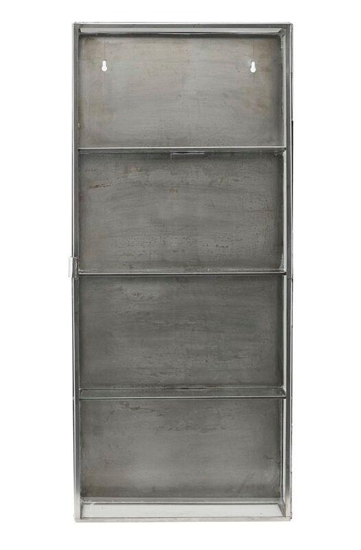 Unoliving House Doctor - Glasskap i rustfri stål H80