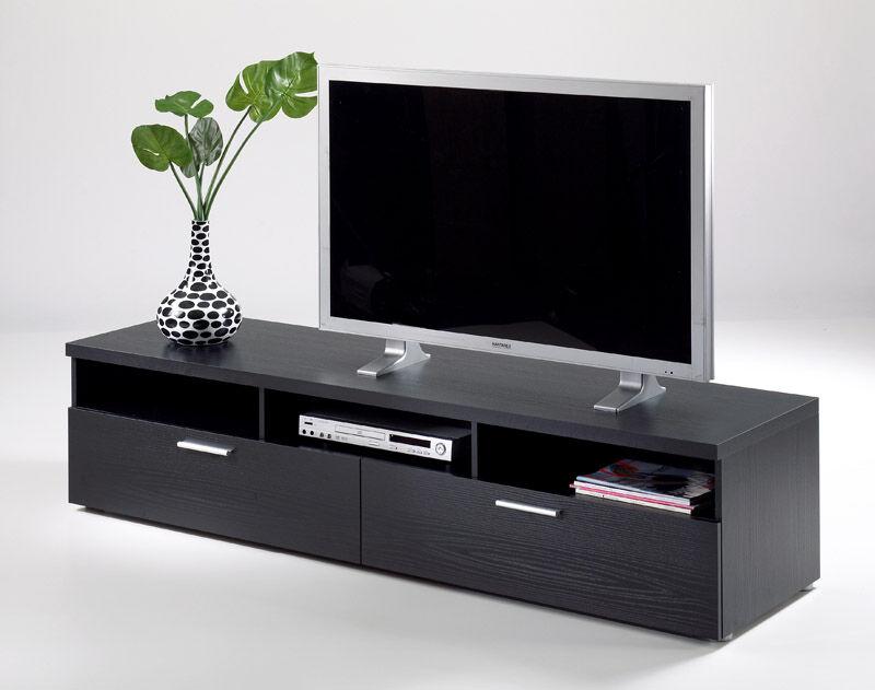 Napoli TV-bord - Svart - B:180
