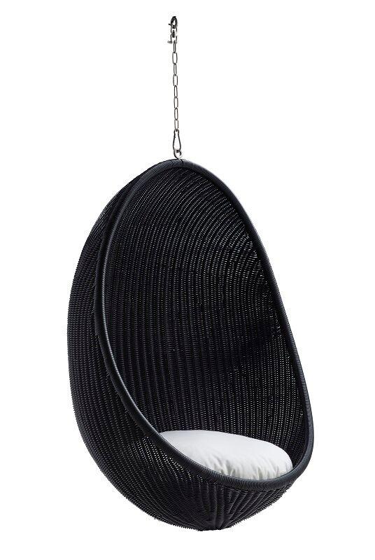 Sika-Design - ICONS Hanging Egg Exterior - Svart