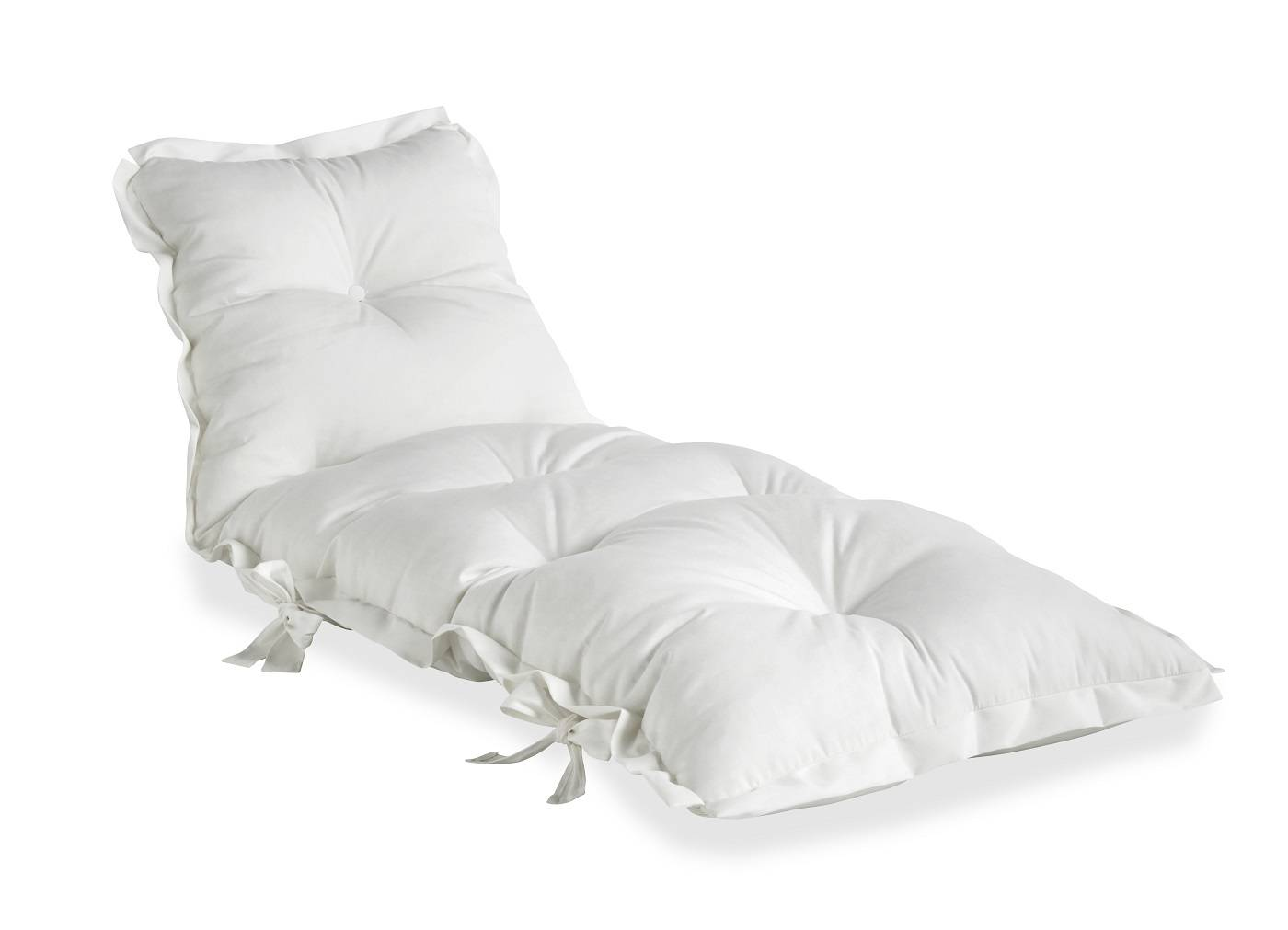 Unoliving Sit&Sleep Futon madras/stol Outdoor - Hvid