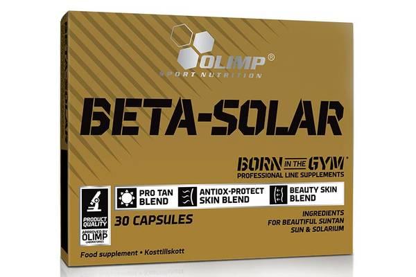 Olimp Beta-Solar 15 Mg Betakaroten - 30 Kapsler