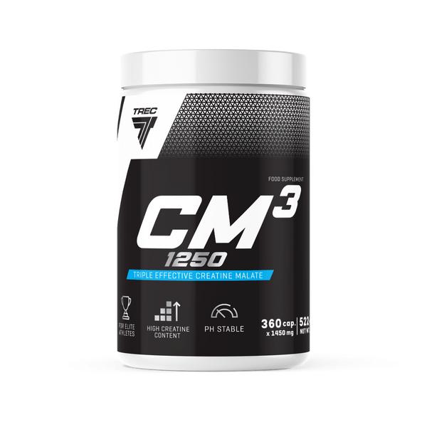 Trec Nutrition Cm3 Tri-Kreatin 360 Kapsler