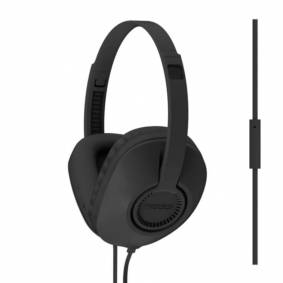 Koss hodetelefoner UR23iK On-Ear one touch mic, svart  UR23iK Replace: N/A