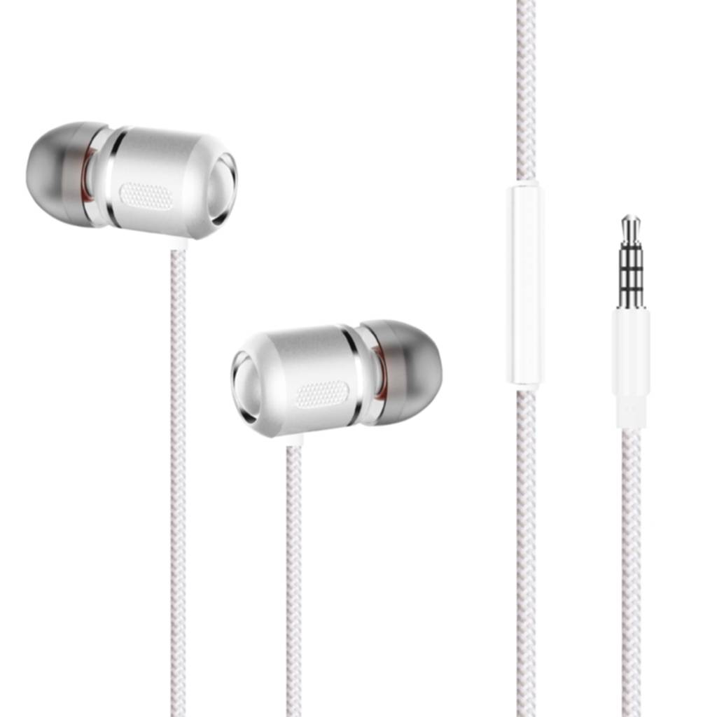 Champion Champion Headset In-Ear Hvid Metallic  HSZ400V Replace: N/A