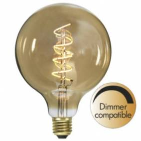 Star Trading Decoration LED filament E27 G125 2000K 160lm Dimmer  354-42 Replace: N/A