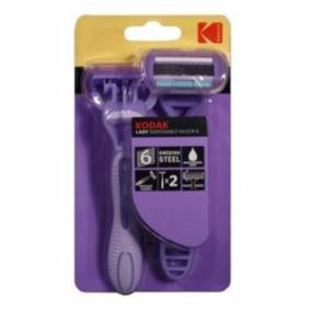 Kodak Disposable Razor Lady 6  30419988 Replace: N/A