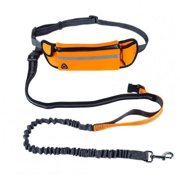 Outlag® Fleksibelt Hundebånd Med Mageveske