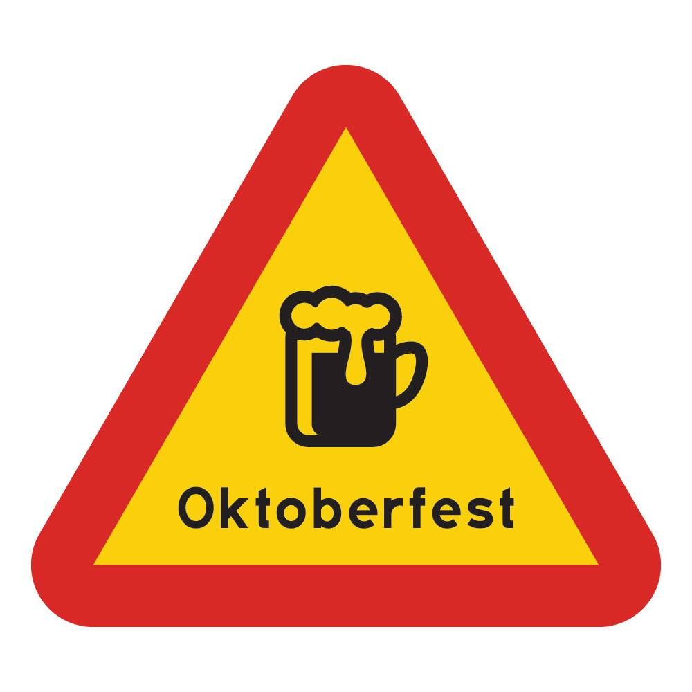 Gavle Offset Varselskilt Oktoberfest