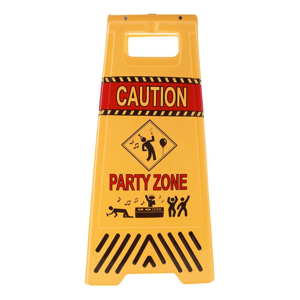 ESPA Varselskilt Party Zone