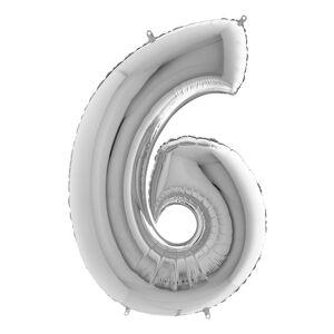 Ballongkungen AB Tallballong Sølv Metallic - Tall 6