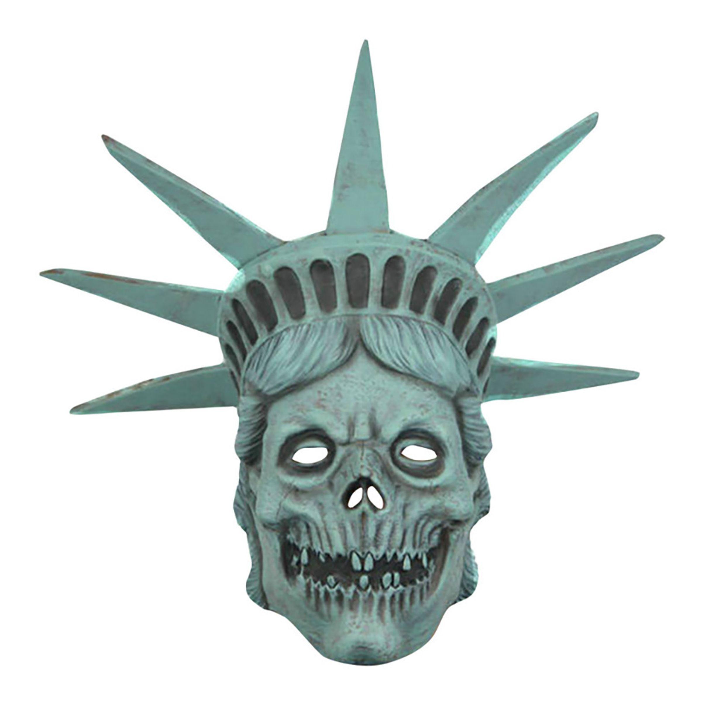 Frihetsgudinnen Hodeskalle Maske - One size