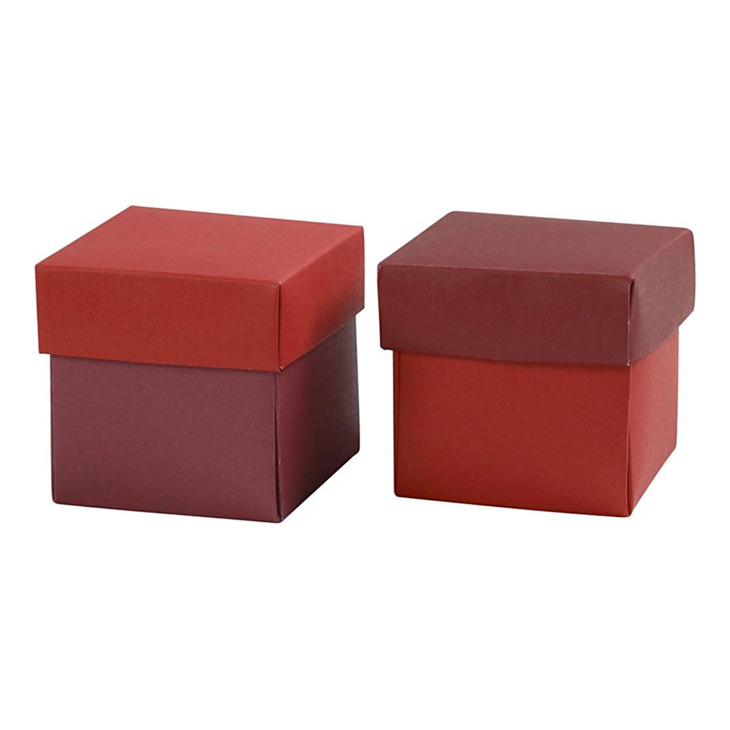 Cc Gaveesker Rød/Vinrød - 10-pakning