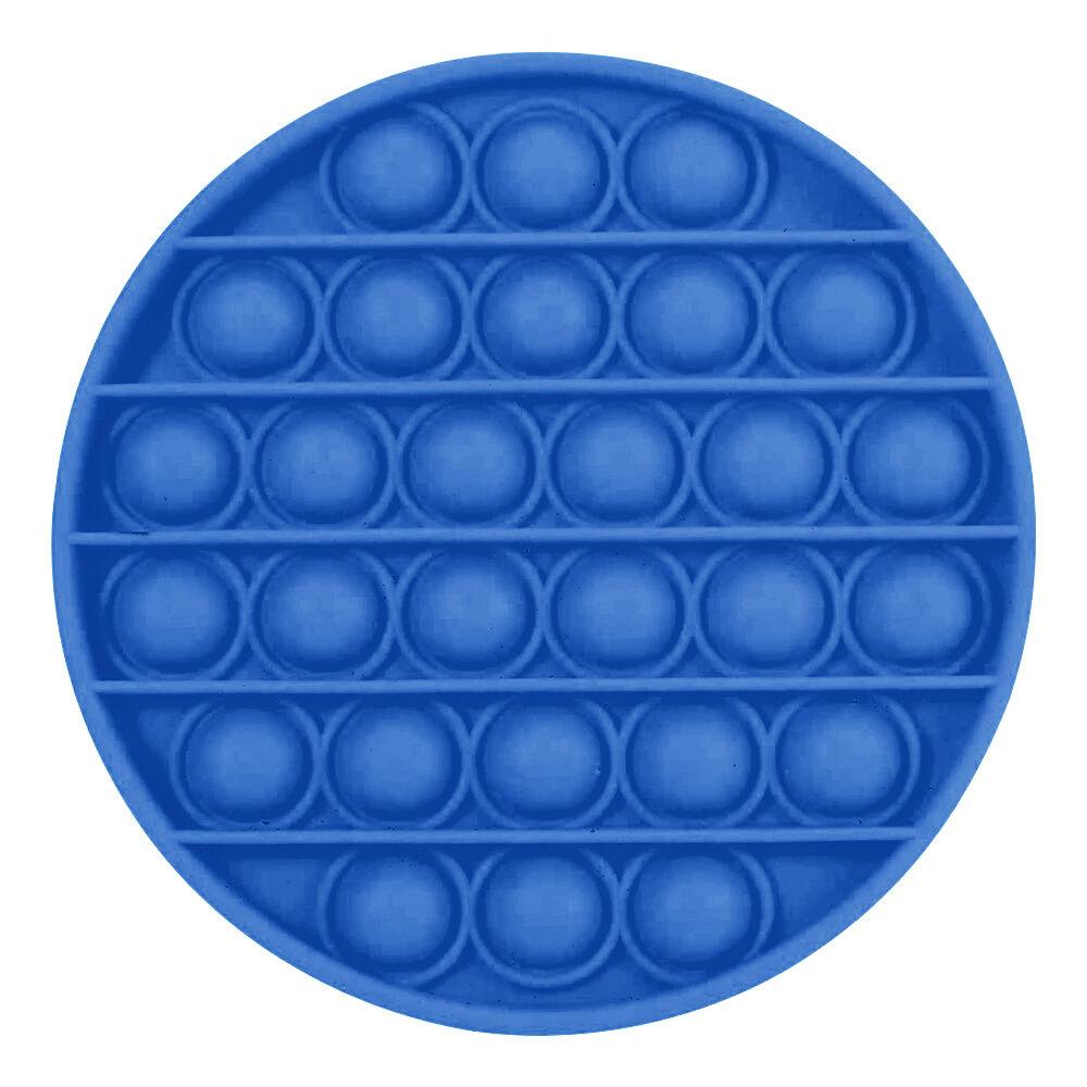 Pop-it Fidget Toy - Rund Blå