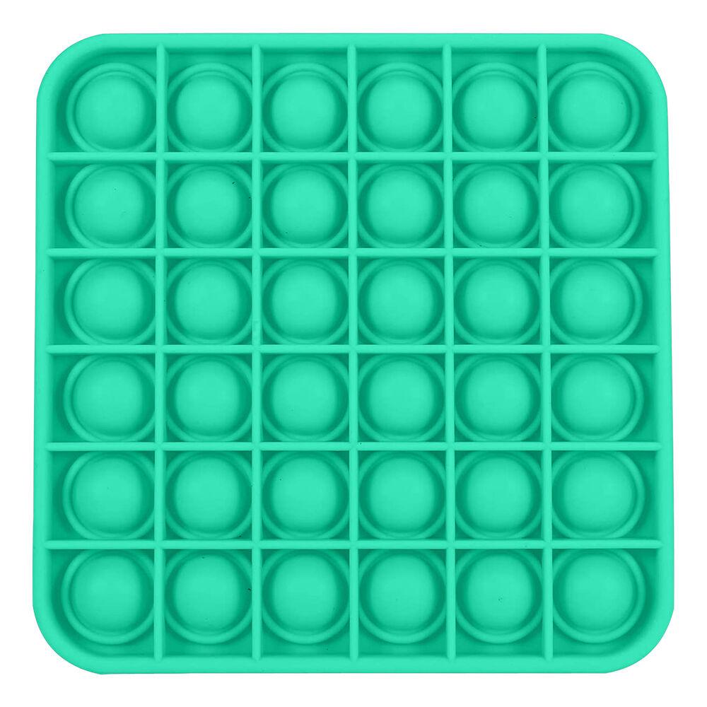 Pop-it Fidget Toy - Kvadratisk Grønn