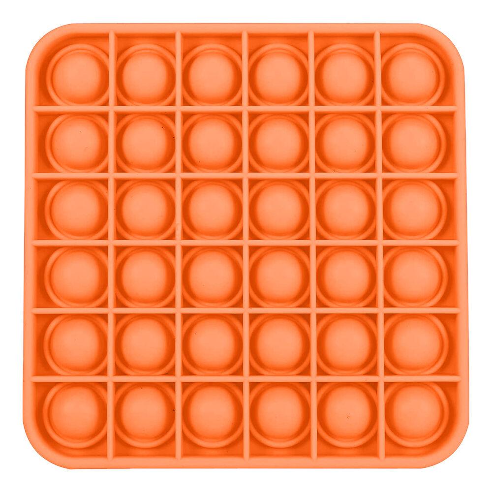 Pop-it Fidget Toy - Kvadratisk Oransje