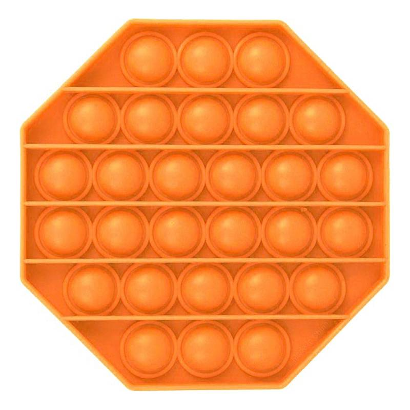 Pop-it Fidget Toy - Oktagon Orange
