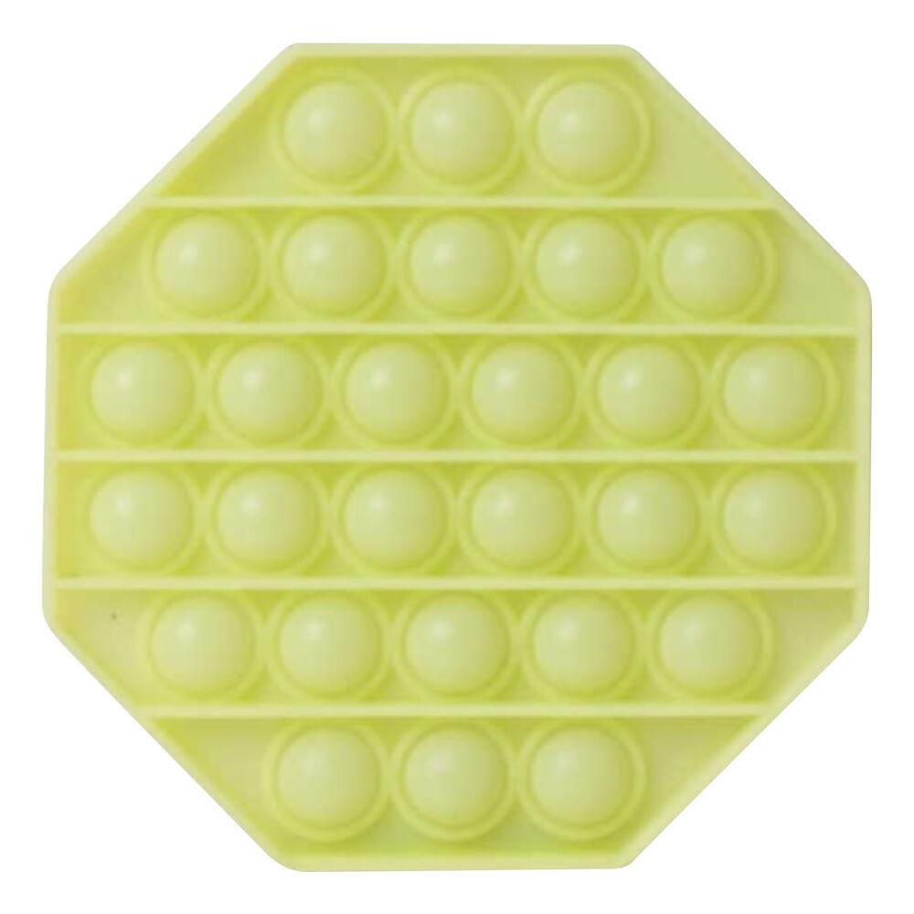Pop-it Fidget Toy - Oktagon Självlysande