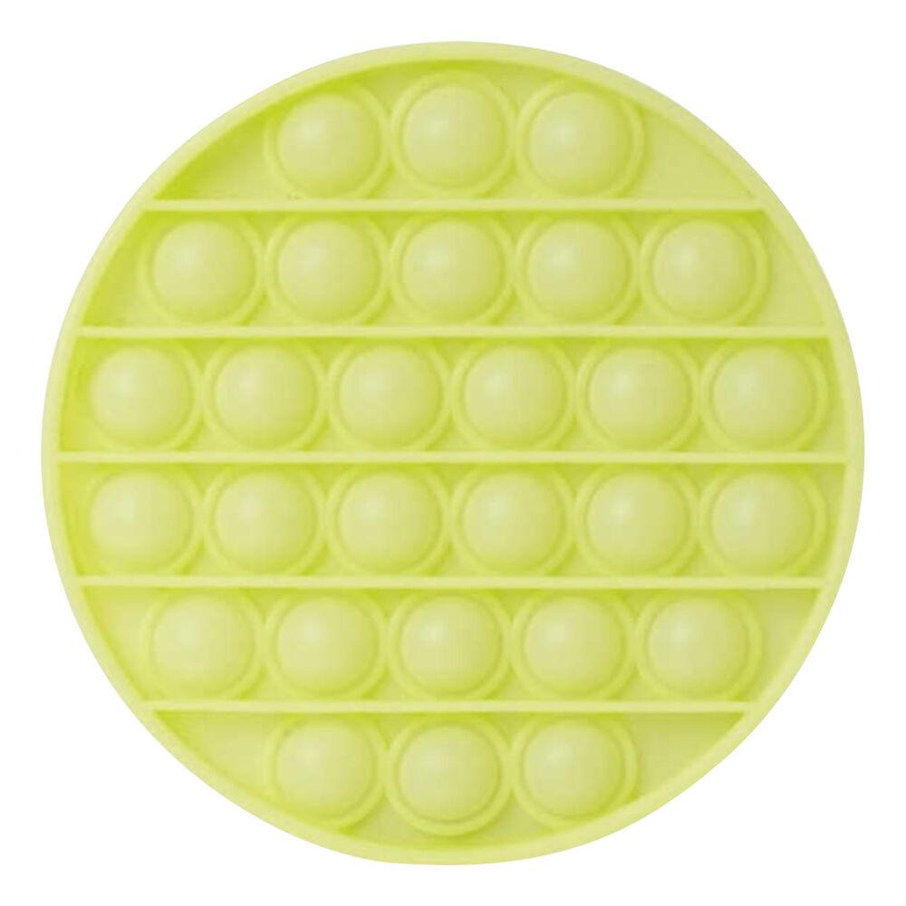 Pop-it Fidget Toy - Rund Självlysande