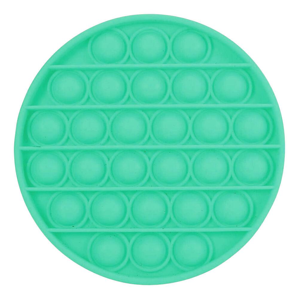 Pop-it Fidget Toy - Rund Grønn