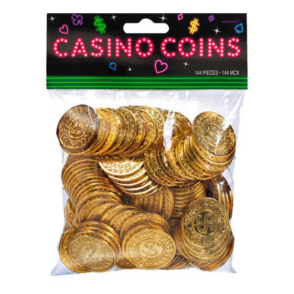Amscan Casino Mynter - 144-pakning