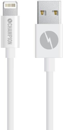 Champion (electronics) Ladd&synk kabel appel vit