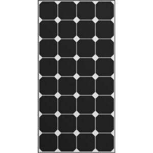 Solara Dc solar 110 wp sunpower black frame