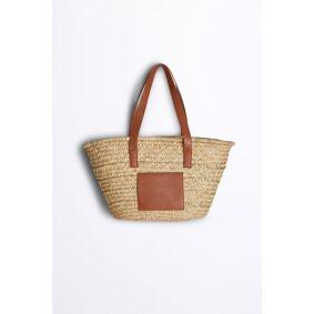 Gina Tricot Jonna straw bag ONESZ Female Nature (2150)