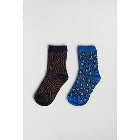 Gina Tricot Mini socks 16-18 Female Leo/aop