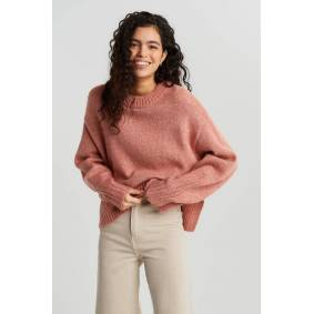 Gina Tricot Aino knitted sweater XS Female Rose dawn (3906)