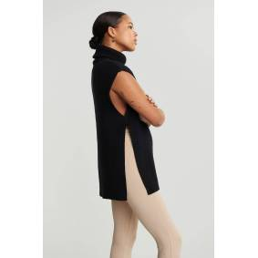 Gina Tricot Millie knitted vest XS Female Black (9000)