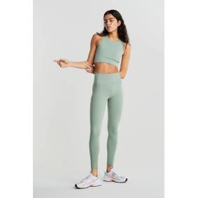 Gina Tricot Cassie high waist leggings XL Female Lily pad (6639)