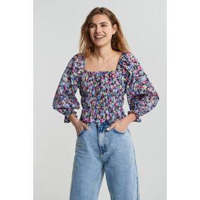 Gina Tricot Katinka blouse 34 Female Spring flo aop (6063)