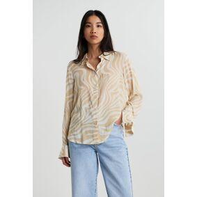 Gina Tricot Hilma shirt 36 Female Swirl aop (1115)