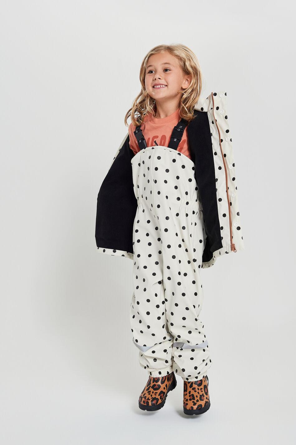 Gina Tricot Tretorn mini rain pants 98/104 Female Dots (9114)