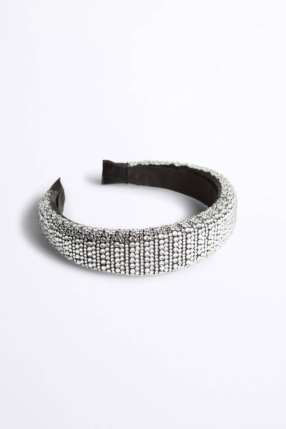Gina Tricot Denise strass diadem Female Silver