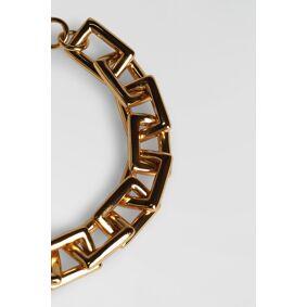 Gina Tricot Chain Bracelet ONESZ Female Gold