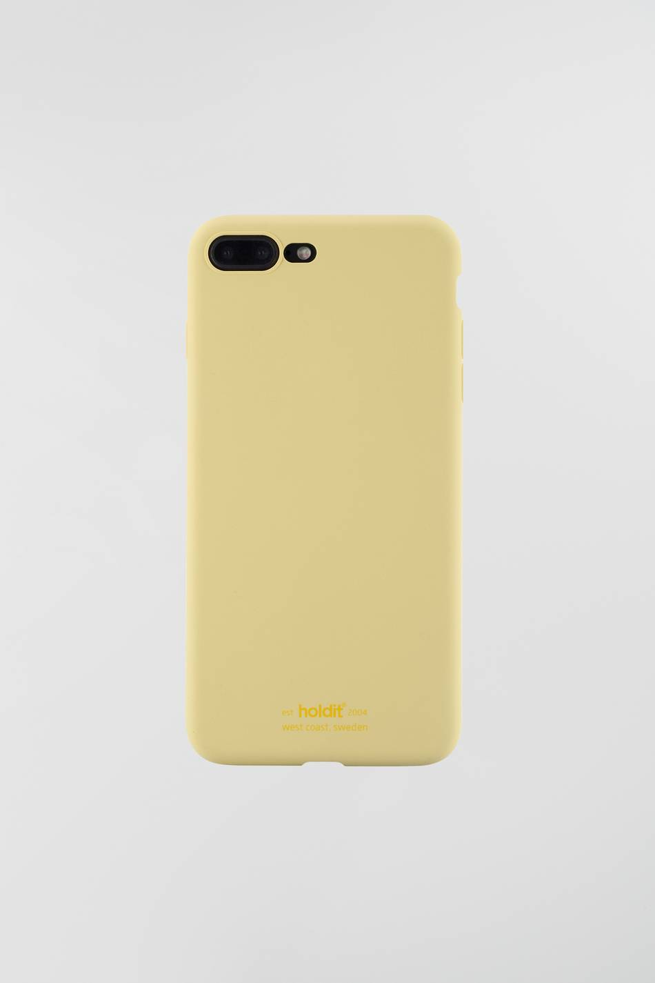 Gina Tricot Holdit iphone 7/8 Plus silicone case ONESZ Female Yellow