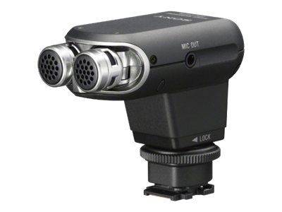 Sony ECM-XYST1M - Mikrofon - for Cyber-shot DSC-RX10; NXCAM HXR-NX80; XDCAM PXW-Z90; a6400; a7 III; a7R III