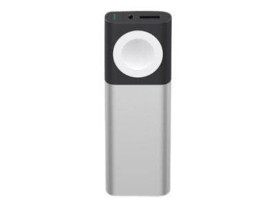 Belkin Valet Power Pack - Strømbank - 6700 mAh - 1 A (USB, magnetisk) - for Apple iPhone 5, 5c, 5s, 6, 6 Plus, 6s, 6s Plus, 7, 7 Plus, SE; Watch