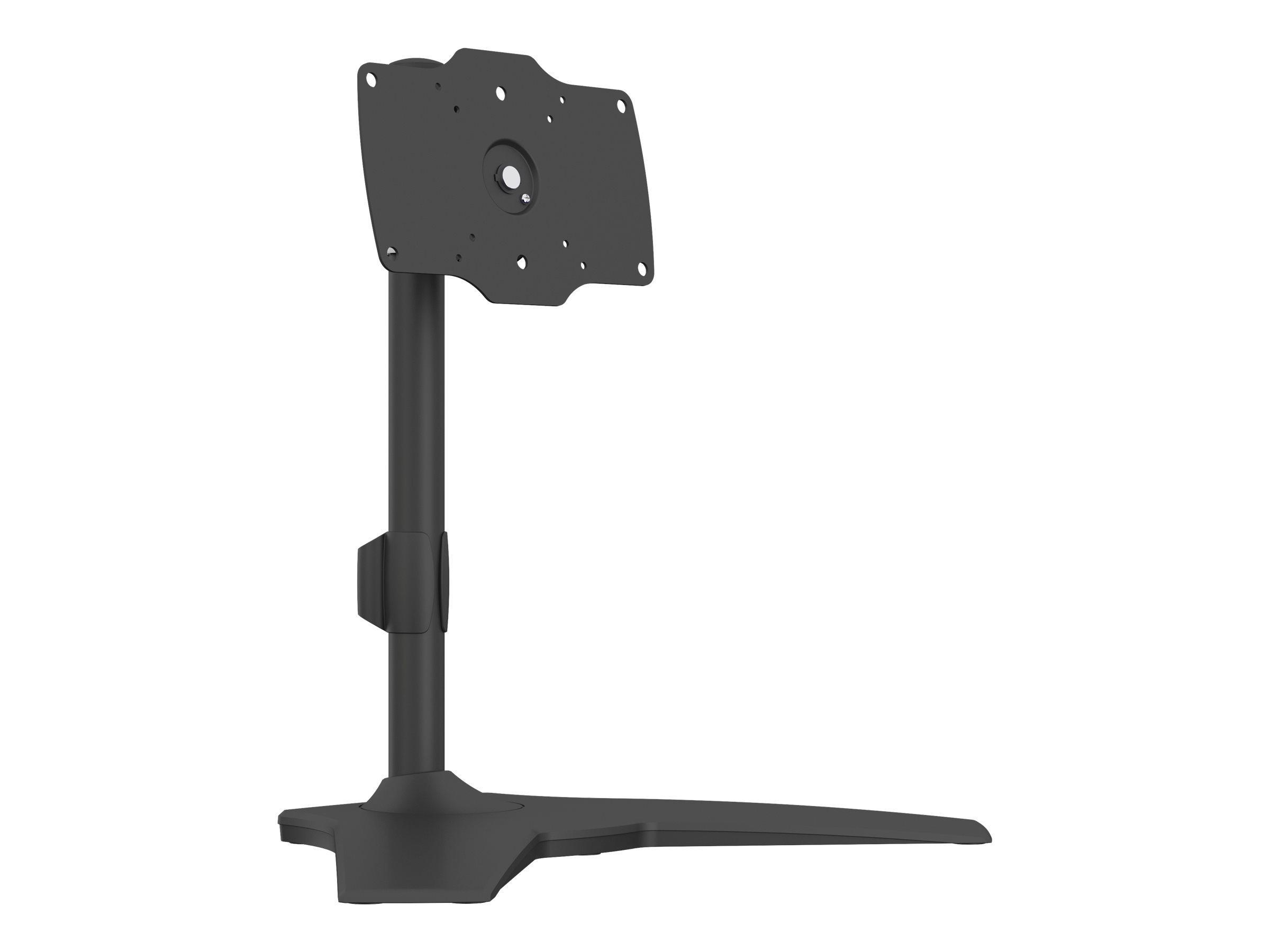 """MULTIBRACKETS M VESA Desktopmount Single Stand - Stativ for LCD-skjerm - aluminium, stål - svart - skjermstørrelse: 24""""-32"""" - skrivebordsstativ"""