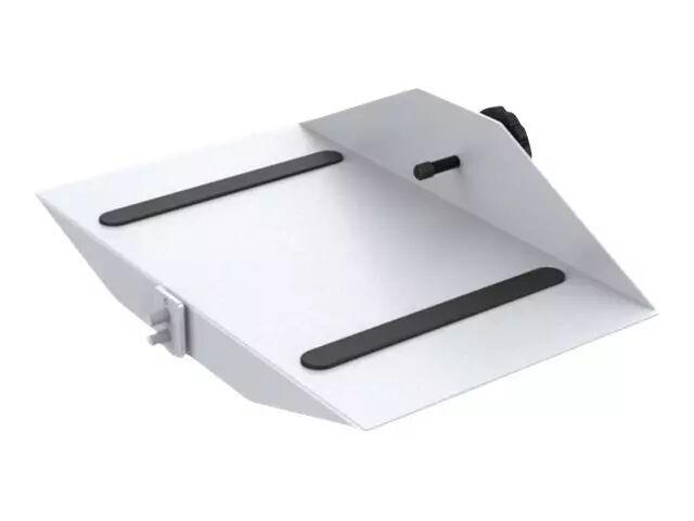 MULTIBRACKETS M Public Display Stand CPU Holder - Hylle for PC/DVD-spiller - stål - sølv - gulvstativmonterbar