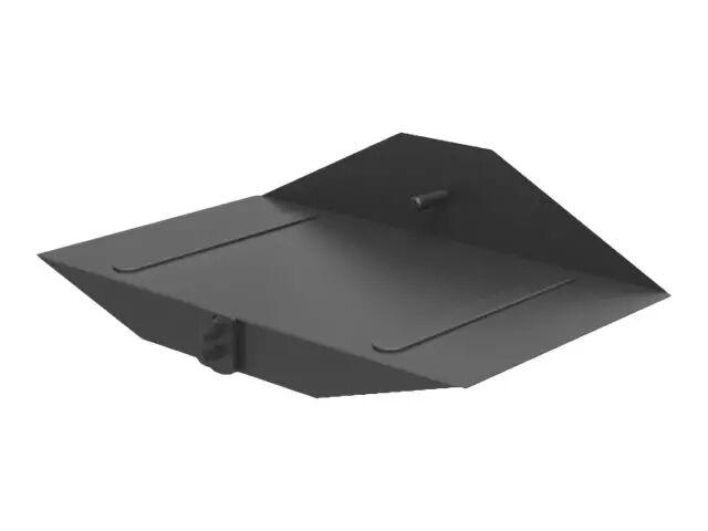 MULTIBRACKETS M Public Display Stand CPU Holder - Hylle for PC/DVD-spiller - stål - svart - gulvstativmonterbar