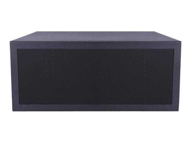MULTIBRACKETS M Public Display Stand MediaBox1 - Medialager - svart - gulvstativmonterbar