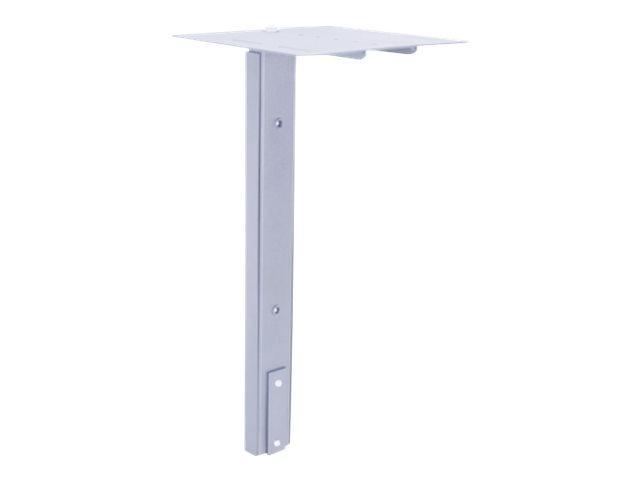 MULTIBRACKETS M Public Display Stand Camera Holder HD - Hylle for videokonferansekamera - stål - sølv - gulvstativmonterbar