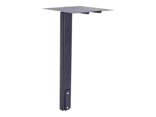 MULTIBRACKETS M Public Display Stand Camera Holder HD - Hylle for videokonferansekamera - stål - svart - gulvstativmonterbar