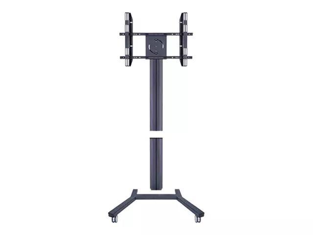 """MULTIBRACKETS M Public Display Stand 180 Single - Stativ for LCD/plasma-panel - aluminium - svart - skjermstørrelse: 40""""-63"""" - monteringsgrensesnitt:"""