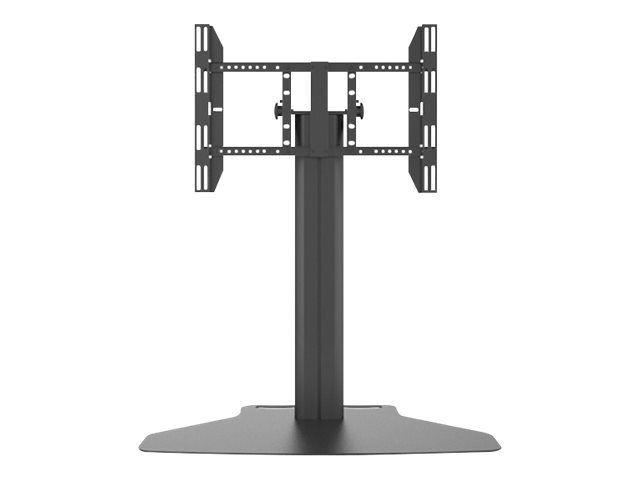 """MULTIBRACKETS M Public Display Stand 110 Tilt & Table - Stativ for LCD/plasma-panel - aluminium - svart - skjermstørrelse: 32""""-55"""" -"""