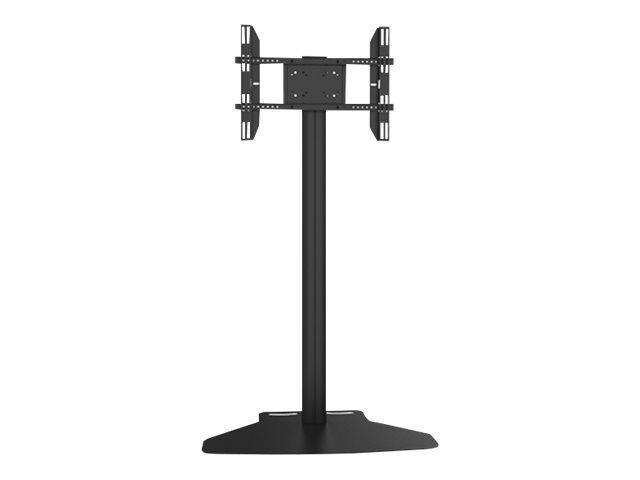 """MULTIBRACKETS M Display Stand 180 Flight Case Single w. Floorbase - Stativ for LCD/plasma-panel - aluminium - svart - skjermstørrelse: 32""""-55"""" -"""