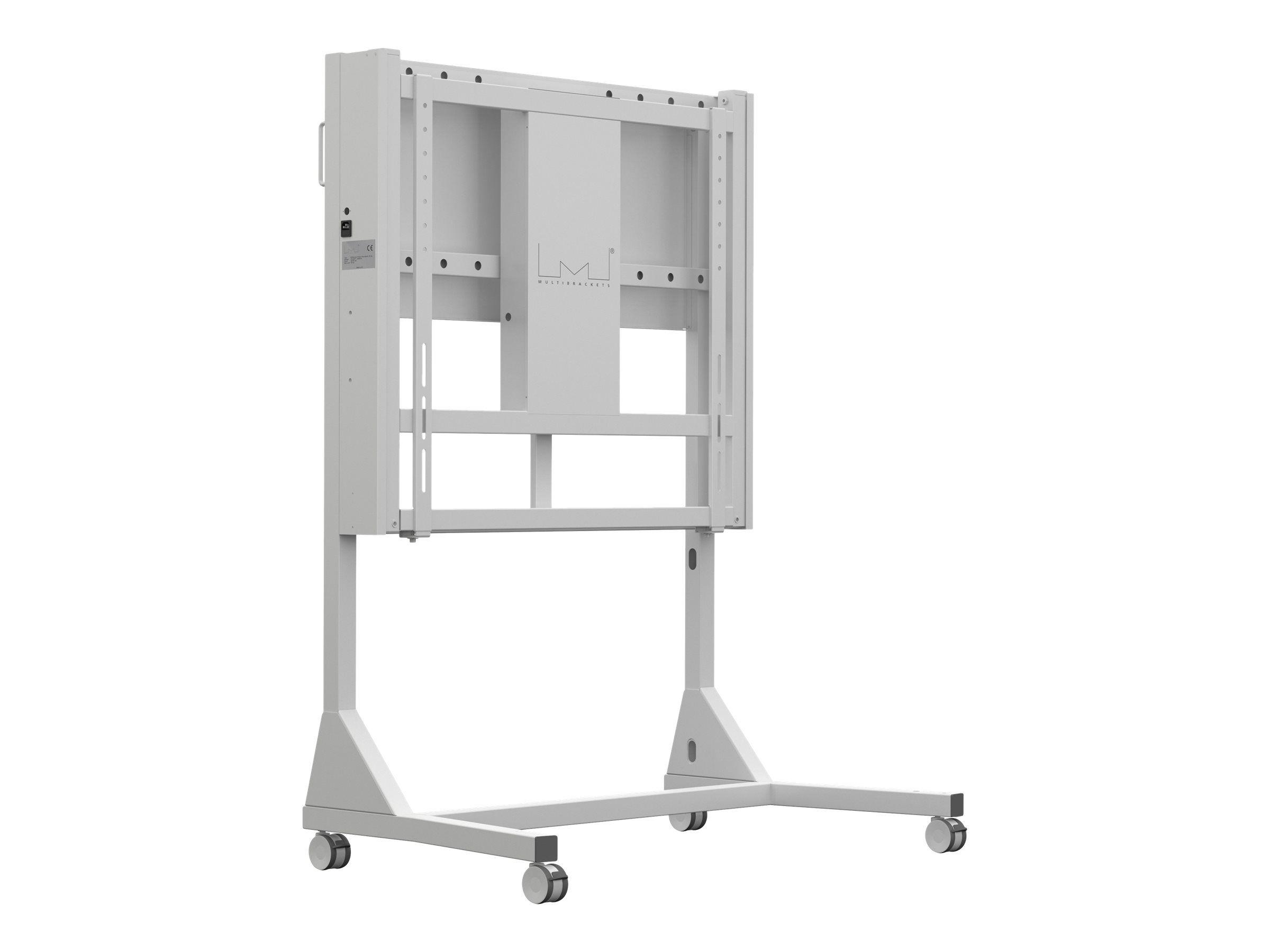 MULTIBRACKETS M Motorized Floorstand - Stativsett (gulvstativ) for LCD-TV - hvit