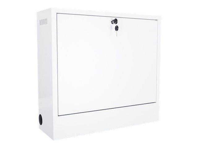 MULTIBRACKETS M Public Computer Security Cabinet II - Kabinettenhet for notebook/nettbrett - stål - hvit
